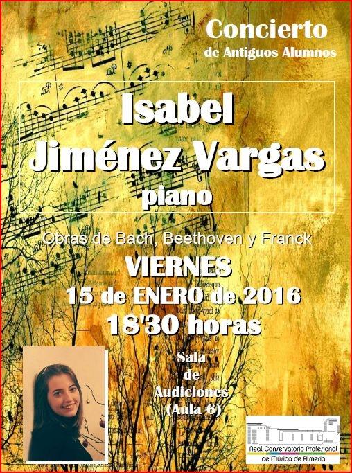 16-01-05 RCPMA concierto piano Isabel Jim