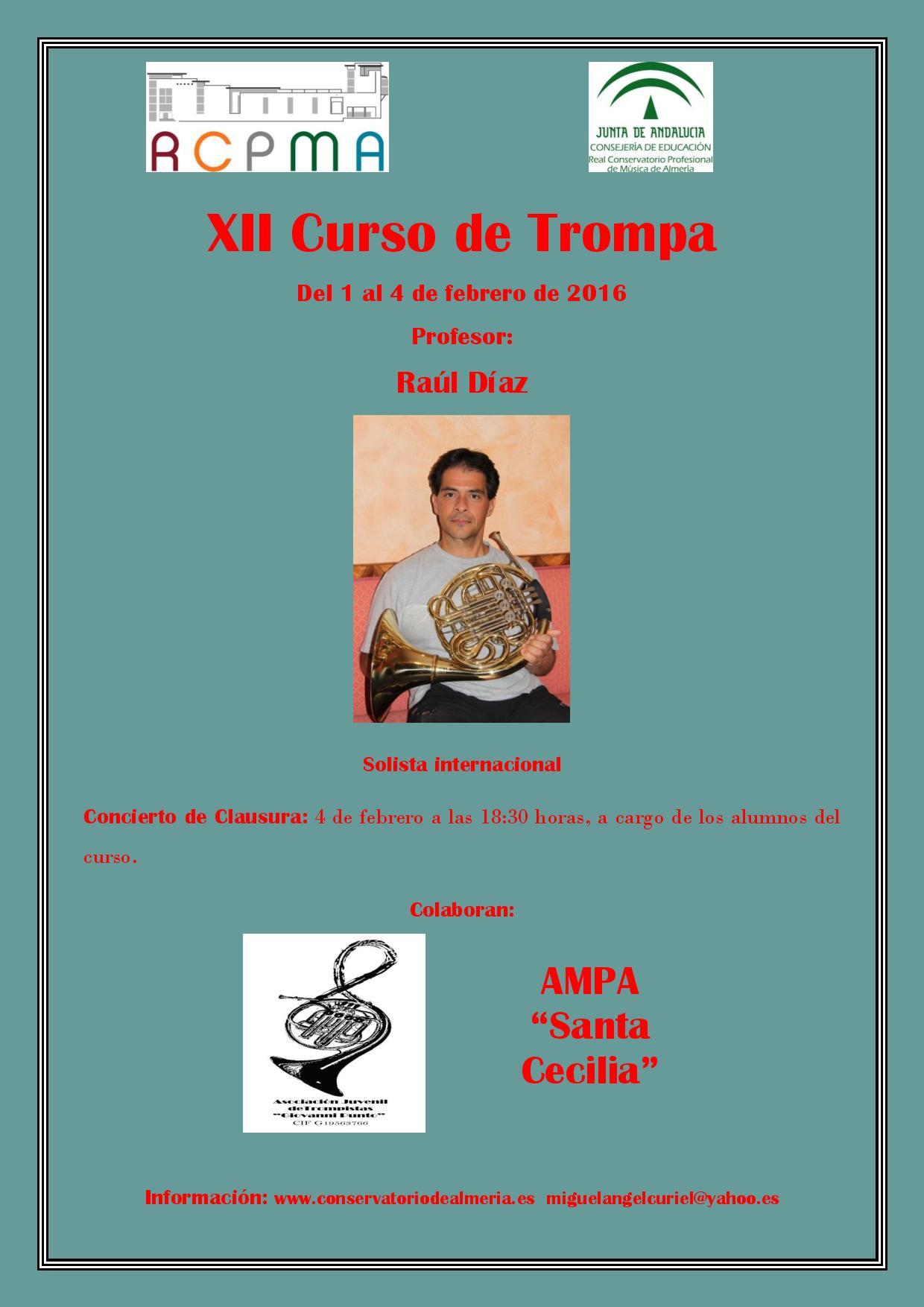 16-02-01 RCPMA curso trompa CARTEL