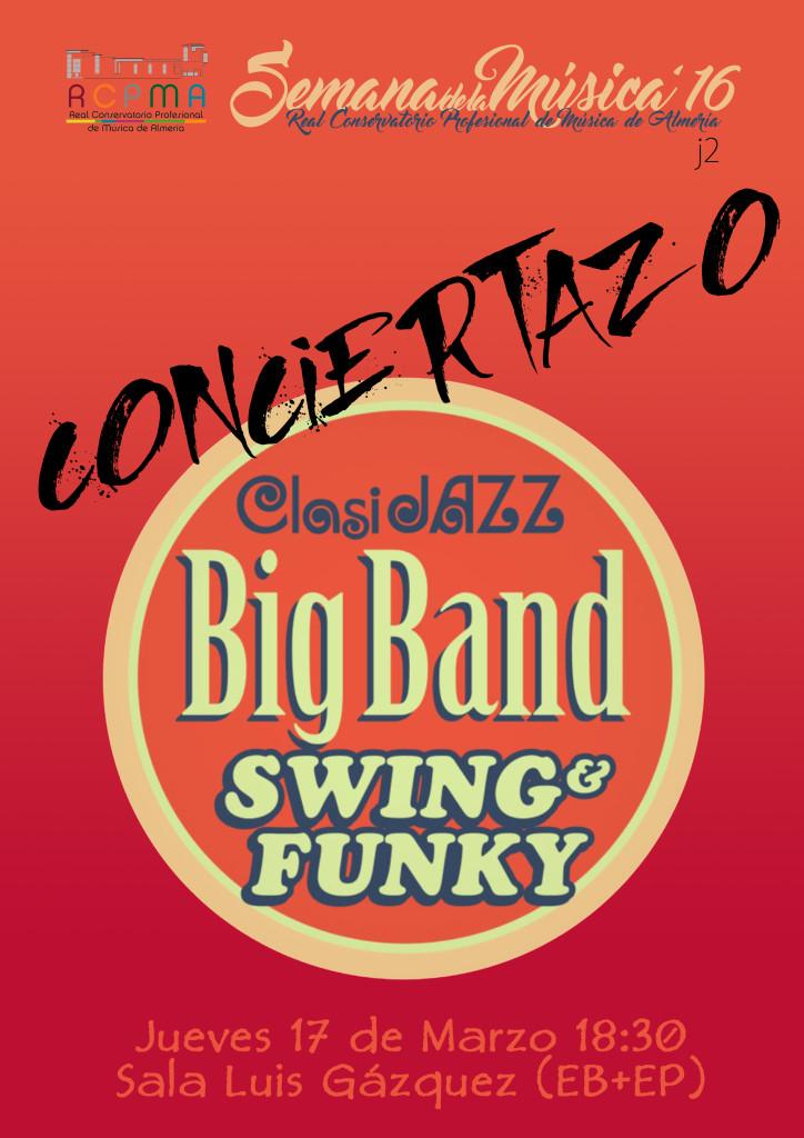 Sem Música 2016 J2 - Concierto Big Band Clasijazz