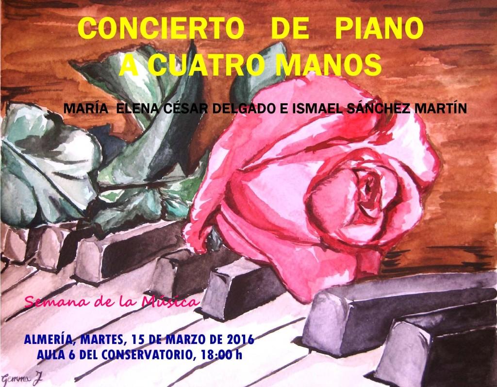 Sem Música 2016 M16 - Concierto piano 4 manos