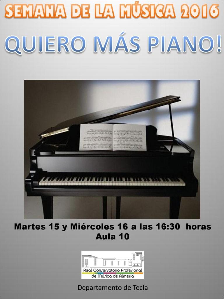 Sem Música 2016 M6-X3 - Quiero más piano