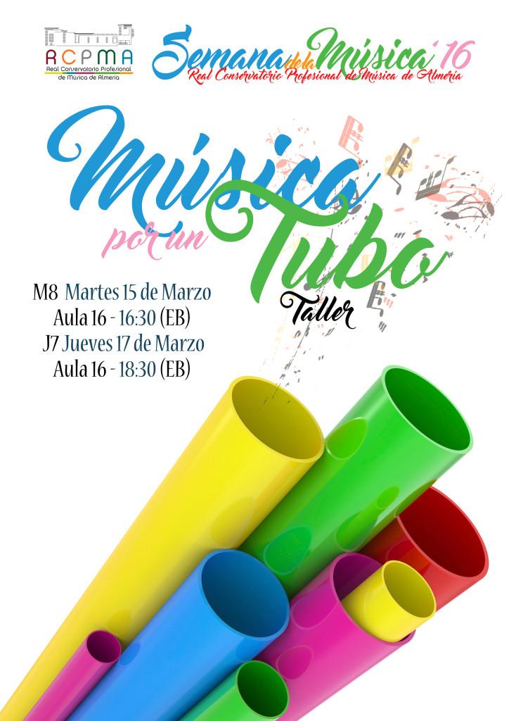 Sem Música 2016 M8-J7 - Música por un tubo