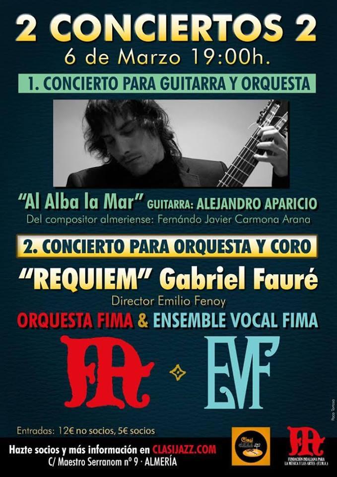16-03-06 FIMA concierto Fauré CARTEL