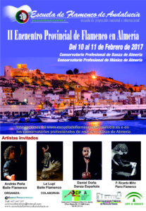II Encuentro Provincial de Flamenco de Almería @ Real Conservatorio Profesional de Música de Almería