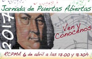 Jornada de Puertas Abiertas del Conservatorio de Almería @ Real Conservatorio Profesional de Música de Almería