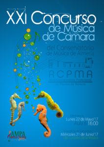 XXI Concurso de Música de Cámara del Conservatorio de Almería @ Real Conservatorio Profesional de Música de Almería