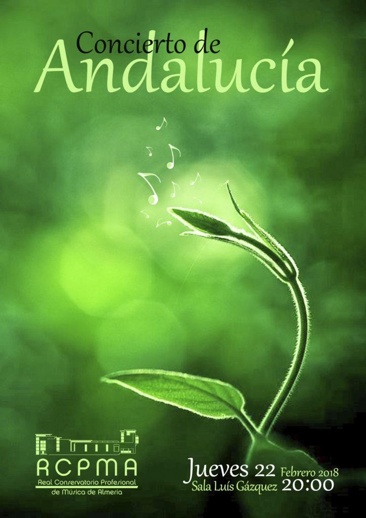 Concierto del Día de Andalucía @ Sala Luis Gázquez del RCPMA