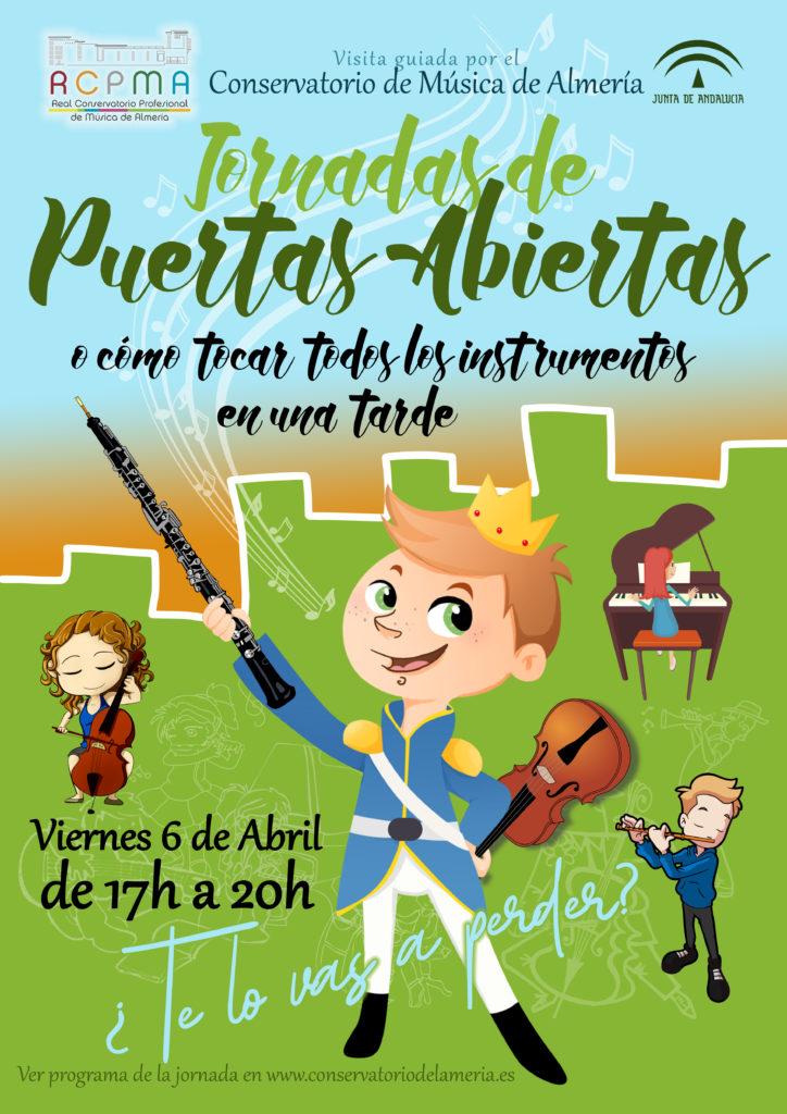 Jornada de Puertas Abiertas del Conservatorio de Almería