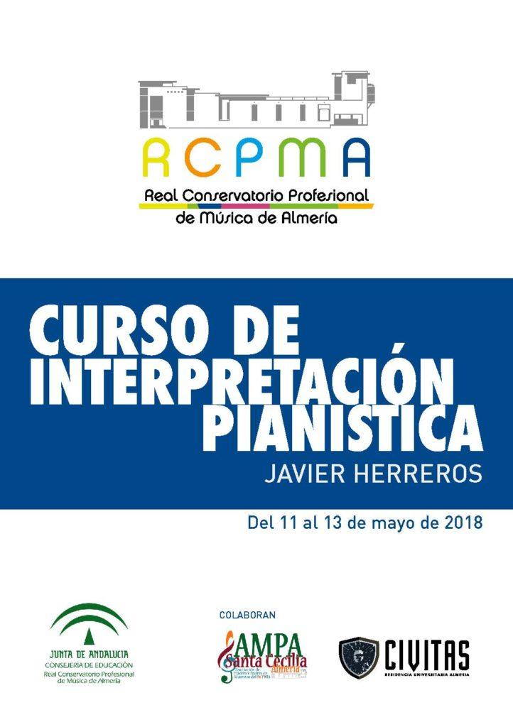 Curso de Piano impartido por Javier Herreros