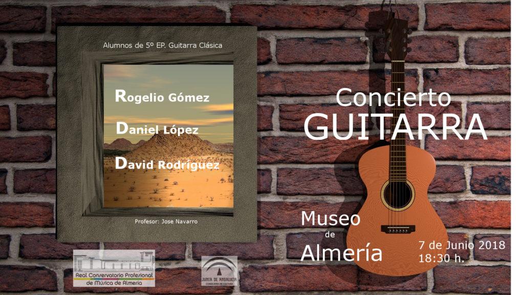 Concierto de alumnos de Guitarra del profesor J.Antonio Navarro @ Museo de Almería