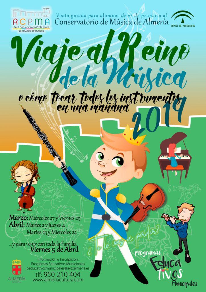 19-03-27 Viaje al Reino de la Música 2019 CARTEL reducido