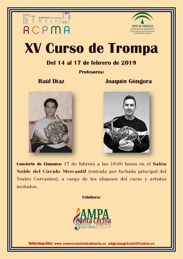 19-02-14 XV Curso de trompa del RCPMA