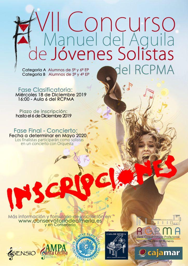 19-12-18 VII Concurso Solistas MdelAguila CARTEL CLASIFICATORIA-min