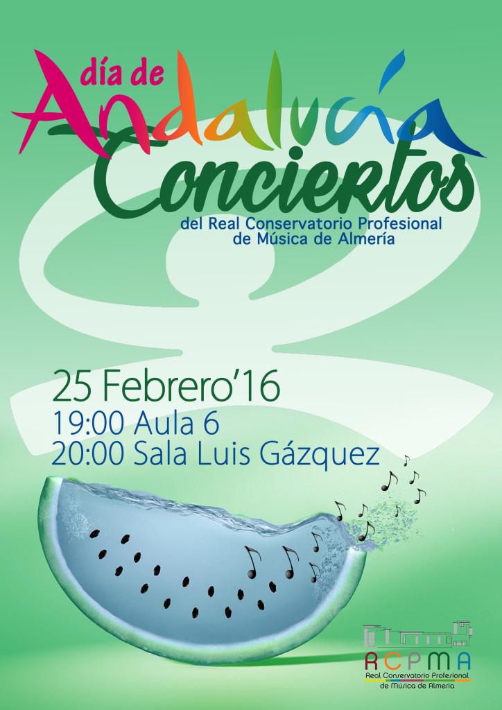 16-02-25 RCPMA concierto DÍA ANDALUCÍA cartel