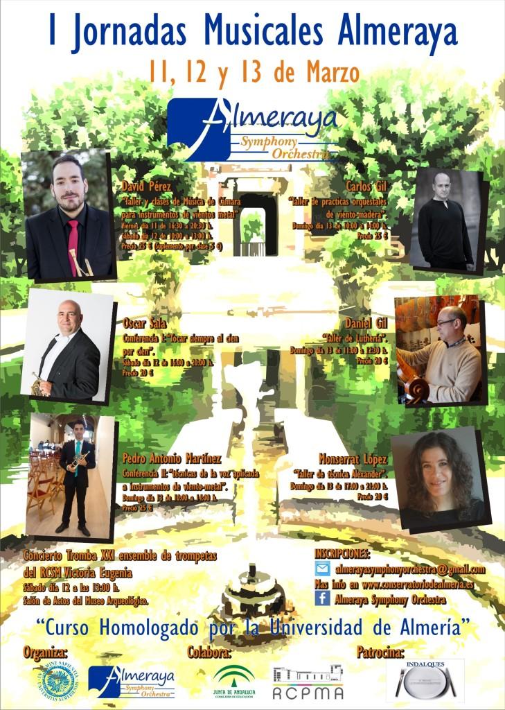16-03-11 ALMERAYA I Jornadas CARTEL