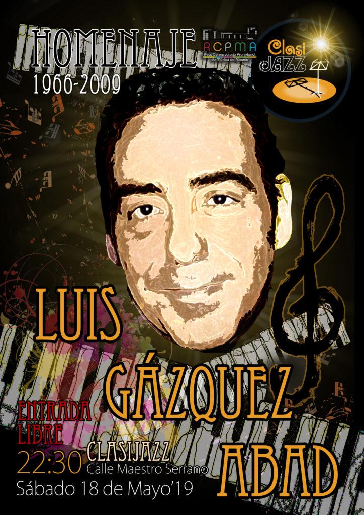 19-05-18 Homenaje Luis Gázquez CARTEL1